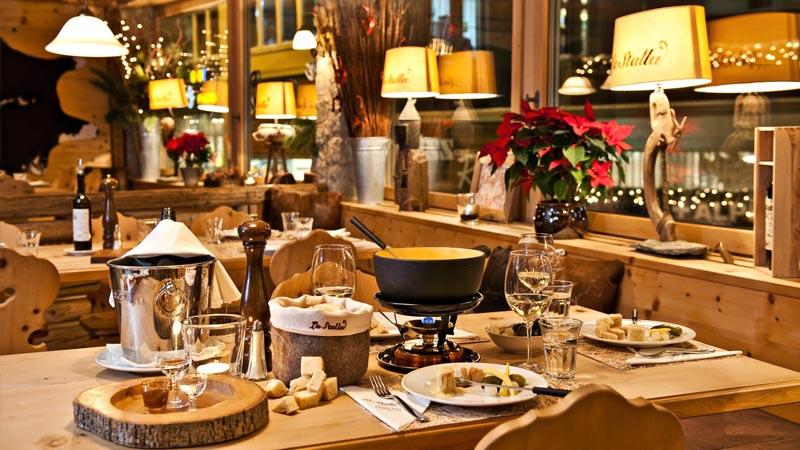 Restaurant La Stalla Restaurant St Moritz